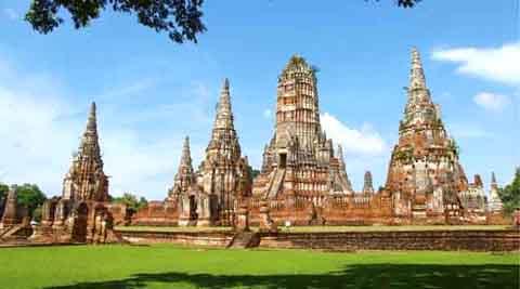 Cố đô Ayutthaya.