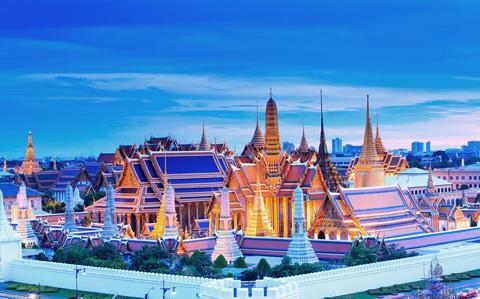 Cung điện Hoàng gia Grand Palace và chùa Phật Ngọc Wat Phra Kaew