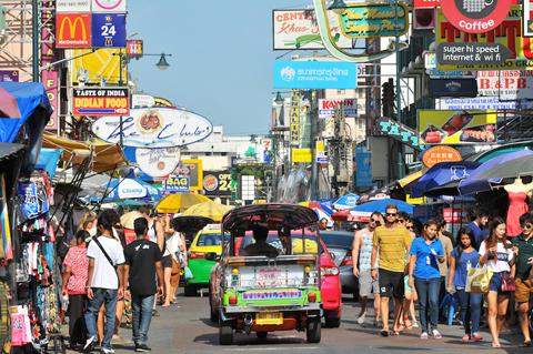 Đường Khao San.