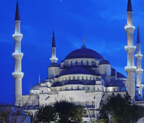 Nhà thờ Sultanahmet (Blue Mosque), Thổ Nhĩ Kỳ