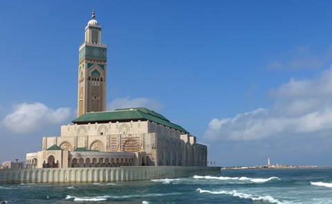 Nhà thờ Hassan II ở Ma rốc