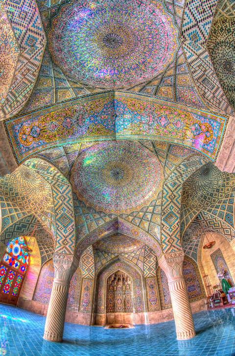 Nhà thờ Nasir-al-Molk, Iran