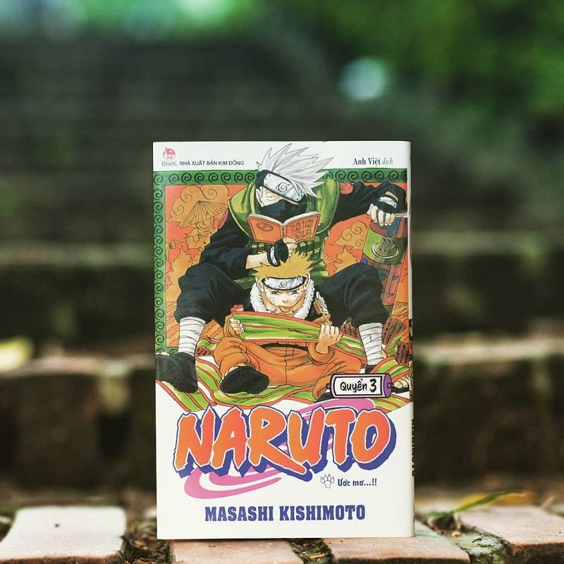 Có ai còn giữ truyện Naruto không?