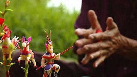 Tò he là đồ chơi trung thu truyền thống của Việt Nam.
