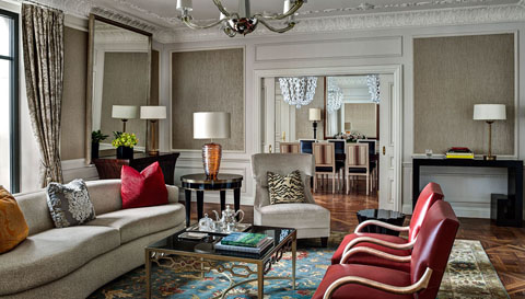 Phòng Presidential Suite, St. Regis, New York