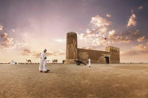 Qatar-nằm-ở-độ-cao-rất -thấp-so-với-mực-nước-biển
