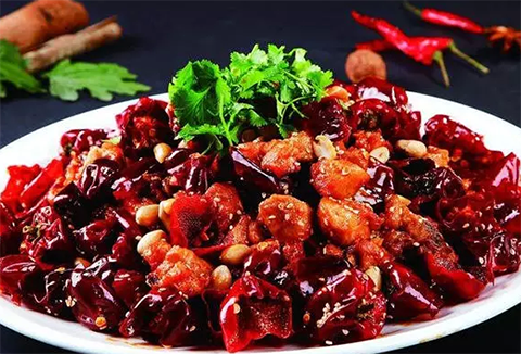 món ăn từ ớt