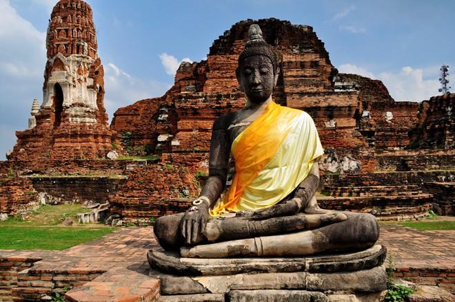 Kinh đô cổ Ayutthaya Thái Lan