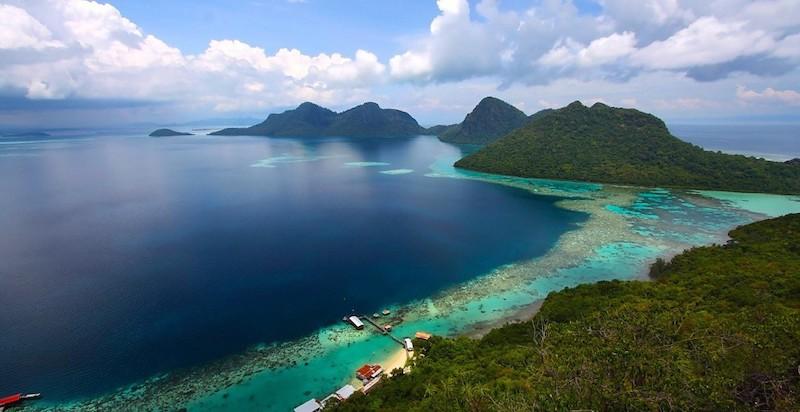 Giải ngố cho tâm hồn ngày hè với vùng biển Kota Kinabalu