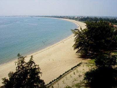 Vẻ đẹp của biển Ninh Chữ