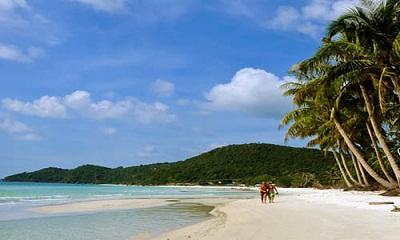 Du lịch biển Quan Lạn - bãi Sơn Hảo
