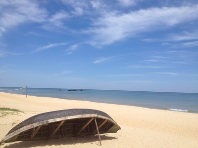 Du lịch biển Thiên Cầm - bãi cát trắng