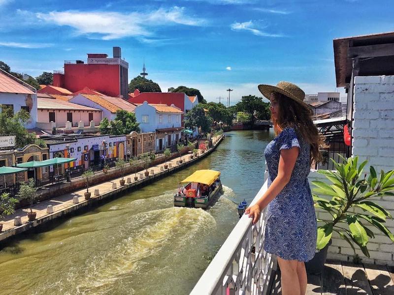 Góc sống ảo không thể bỏ qua khi đến với Malacca