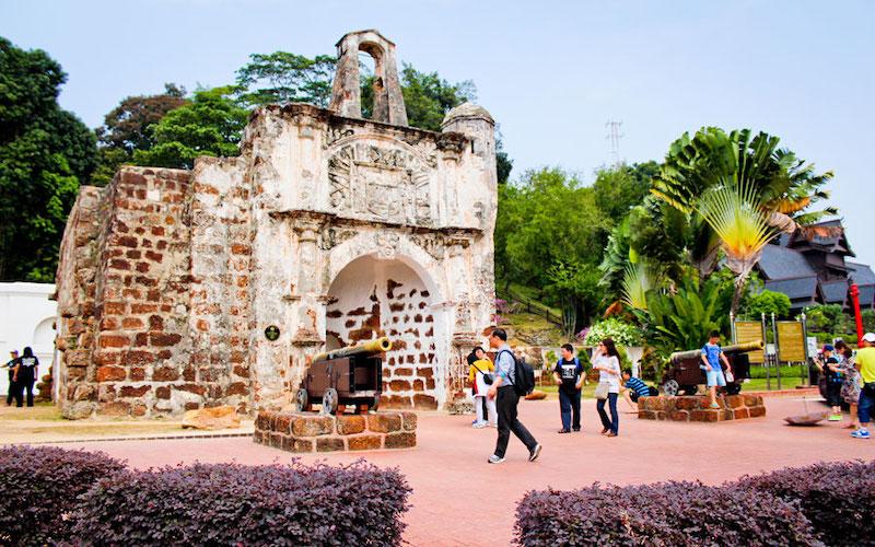 Ai đến với Malacca đều ghé đến đây, chụp 1 tấm ảnh làm kỷ niệm, đơn giản chỉ vậy thôi