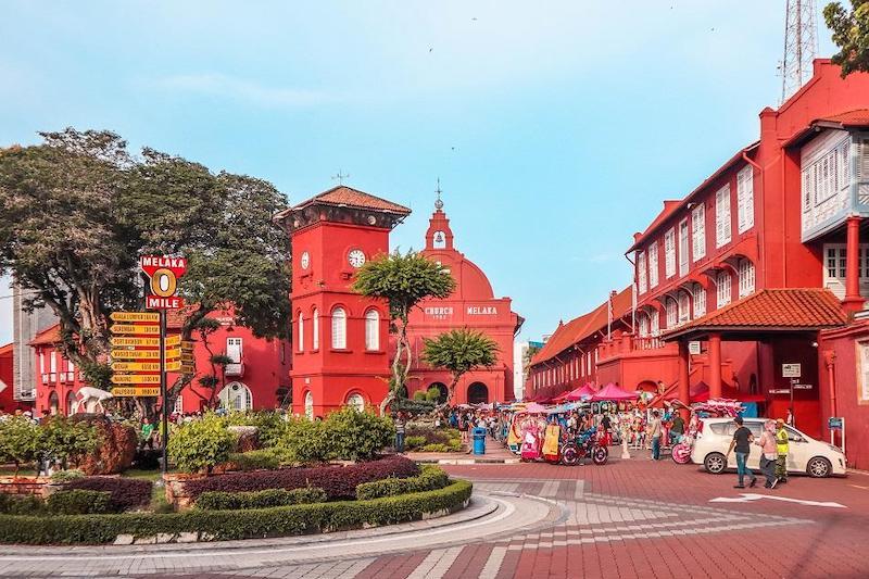 Malacca vẫn là nơi thu hút khá nhiều khách du lịch hàng năm