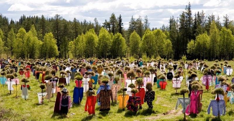 Cánh đồng bù nhìn ở Phần Lan