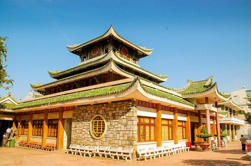 Kiến trúc của Chùa Bà Núi Sam