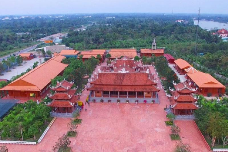 Toàn cảnh Thiền viện Trúc Lâm Phương Nam