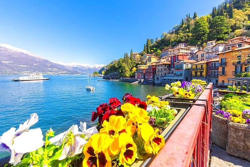 Hồ Como là điểm đến thích hợp cho một chuyến đi xả stress