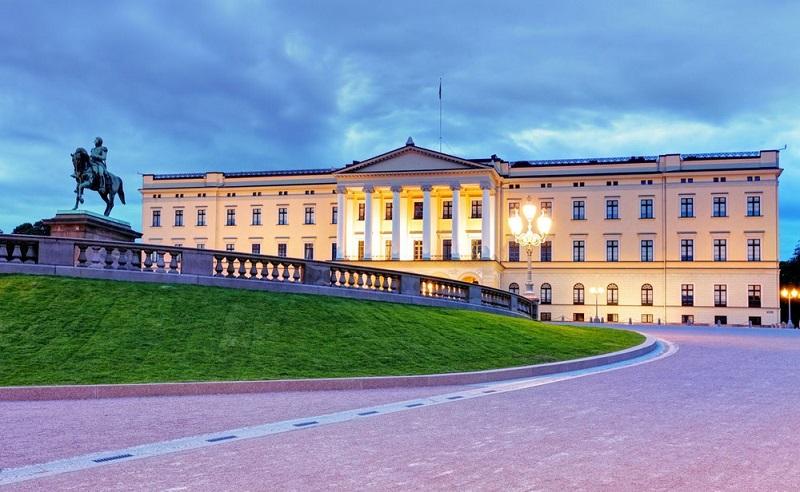 Cung điện Hoàng gia Oslo, Na Uy tuyệt đẹp
