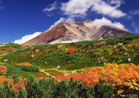 Asahi là ngọn núi cao nhất trên hòn đảo Hokkaido