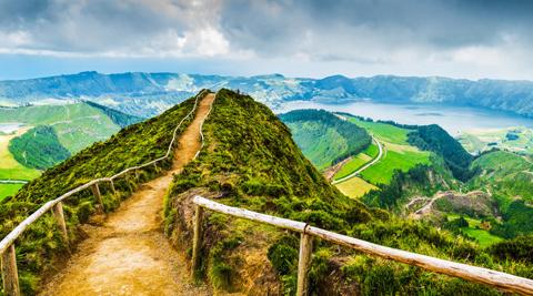 Vùng núi lửa Azores
