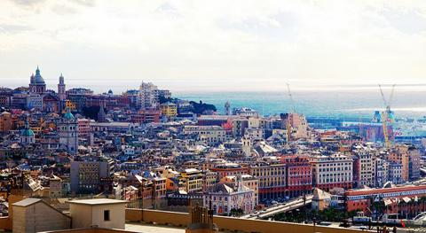 Thành phố cảng Genoa