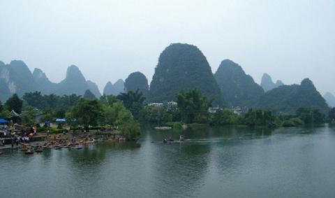 Thị trấn Yangshuo, tỉnh Quảng Tây