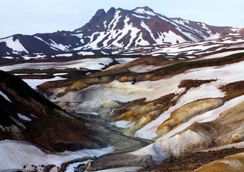 Thung lũng chết Kamchatka ở Nga