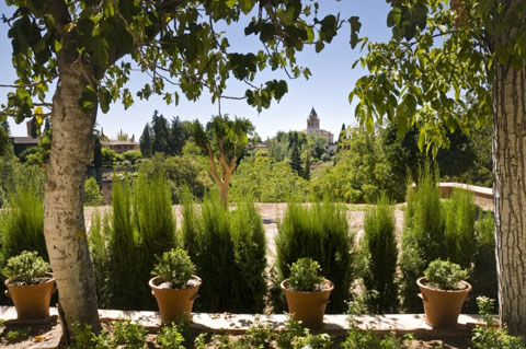 Vườn của Alhambra and the Generalife