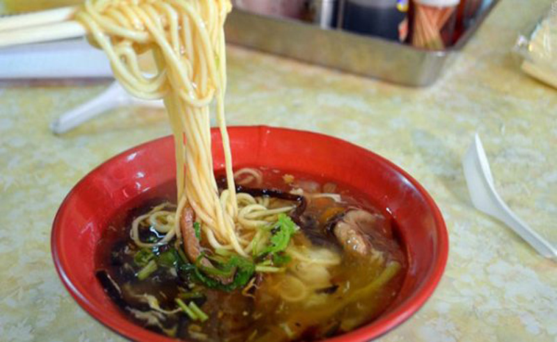 Đến thành phố cổ Đài Nam, trải nghiệm hương vị món mỳ Lumian nổi tiếng
