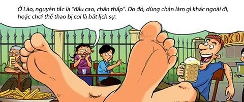 Những điều cấm kỵ khi tới Lào