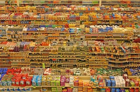 Trong siêu thị có vô số các loại ngũ cốc