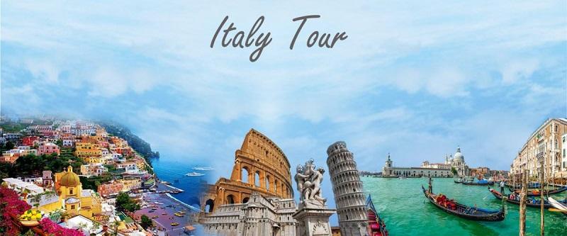Tour du lịch đến Ý rất nhiều và tiện lợi