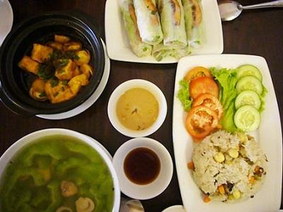 Âm thực ăn chay Đà Lạt