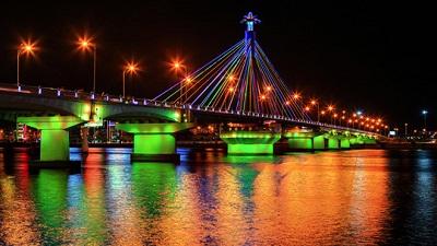 Du lịch Đà Nẵng - Cầu Sông Hàn