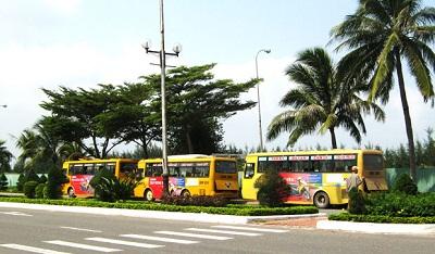 Xe bus du lịch Đà Nẵng