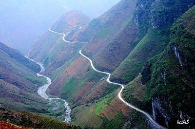 Du lịch Hà Giang khám phá con đường đèo