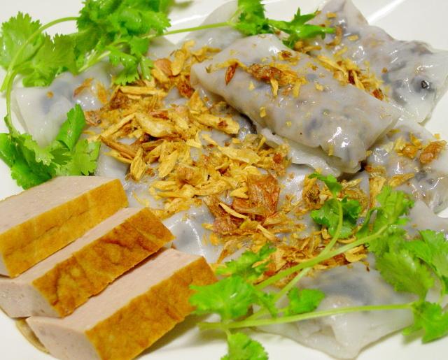 Du lịch Hà Nội - bánh Cuốn
