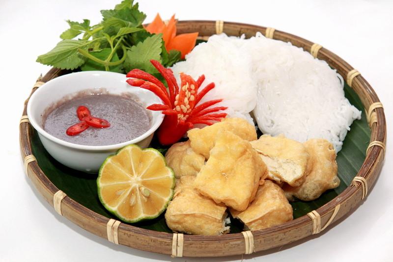 Du lịch Hà Nội - Bún đậu mắm tôm