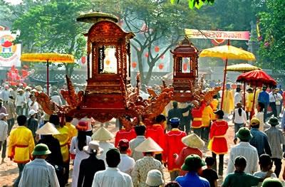 Du lịch Hà Nội - lễ hội Cổ Loa