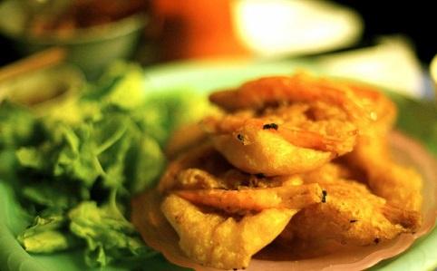 Bánh tôm - món ngon Hà Nội