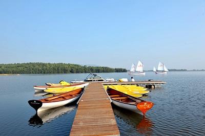Treo thuyền hồ Đại Lải - Hà Nội