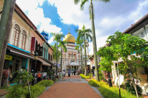 Di Singapore tham quan pho Kampong Glam co kinh