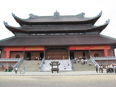 Du lịch Ninh Bình - chùa Bái Đính