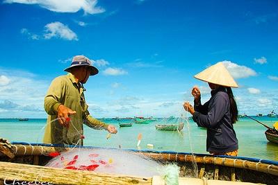 Du ngoan Phu Quoc chiem nguong bai bien Khem hoang so