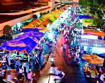 Khu chợ đêm Sài Gòn