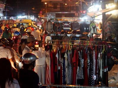 Du lịch Sài Gòn - chợ đêm