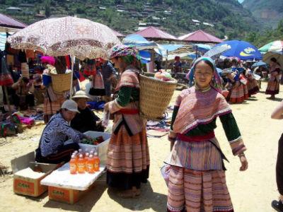 Du lịch Sapa- phiên chợ