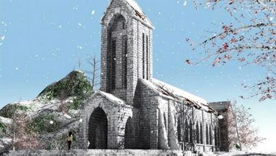 Điểm du lịch Sapa - Nhà Thờ Đá Cổ